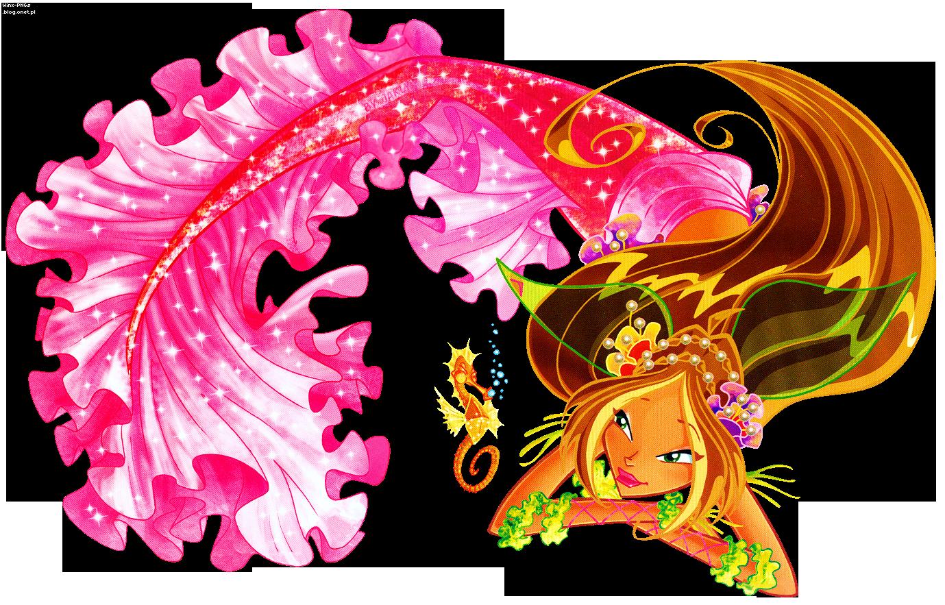 Рисунок винкс русалки